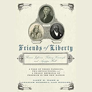 Friends of Liberty audiobook cover art