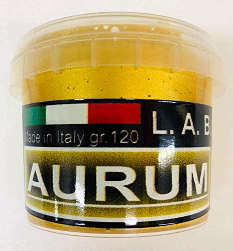 L.A.B. Doratura Acrilica ad Acqua, Effetto ORO FOGLIA, GOLD LEAF, 120 gr. ( 125 ml. ) NEW FORMULA