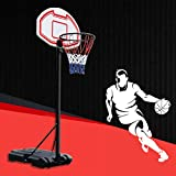 PONMOK バスケット ゴール バスケットボード 練習用 バスケ 高さ調節可能 ミニバスまで対応 ゴールネット NBA 家庭用 ミニ 屋外 子供用 こども 庭 公園