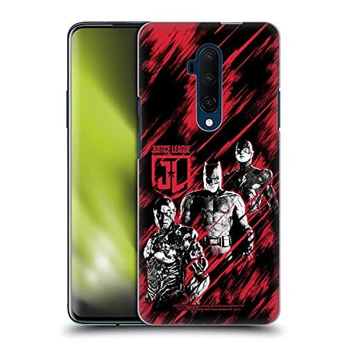 Head Case Designs sous Licence Officielle Zack Snyder's Justice League Cyborg, Batman, and Flash Snyder Cut Art Composé Coque Dure pour l'arrière Compatible avec OnePlus 7T Pro