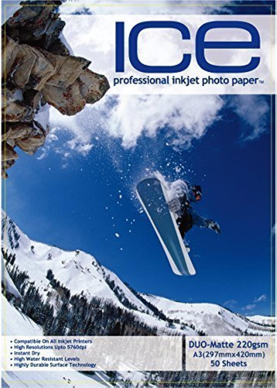200 Blätter Ice A3 220GSM qm qm qm doppelseitig matt matt Fotopapier B07CRV71PL | Qualität und Verbraucher an erster Stelle  939e3e