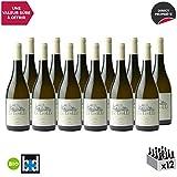 Givry Champ Pourot Blanc 2018 - Bio - Domaine de la Luolle - Vin AOC Blanc de Bourgogne - Cépage Chardonnay - Lot de 12x75cl - Sélection Bettane Desseauve