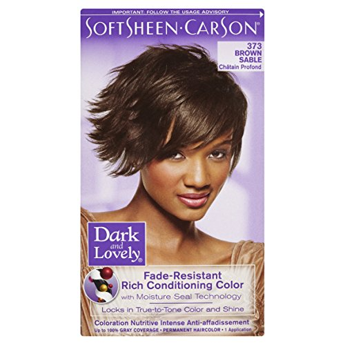 SoftSheen-Carson Dark and Lovely Permanent Hair Color Number 373, Brown Sable by SoftSheen-Carson