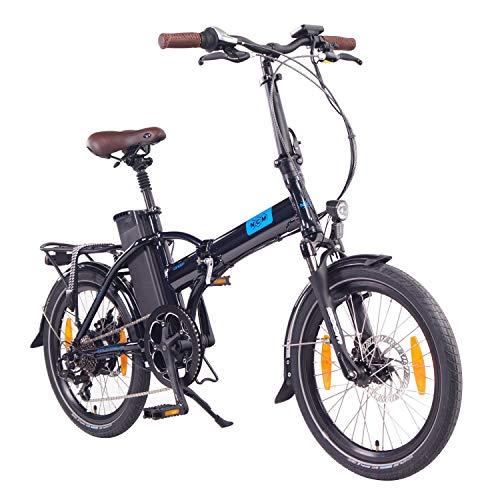 "NCM London 20"" Bicicletta elettrica Pieghevole, 36V 15Ah 540Wh Blu"