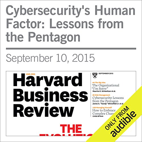 Cybersecurity's Human Factor: Lessons from the Pentagon audiobook cover art