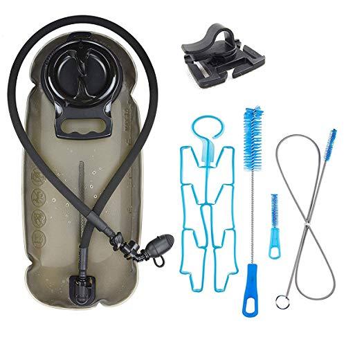 XIAO HUI Poche à eau 2 L 2,5 L 3 L passée pour activité antimicrobienne et efficace adaptée pour la randonnée, le cyclisme, le camping, l'escalade