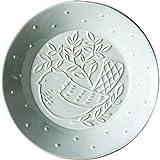 nianrui Kreative Keramik Geschirr Western Teller Pasta Kuchen Strumpf Herz Teller Obstteller geprägt Vogel Teller Cp-122b