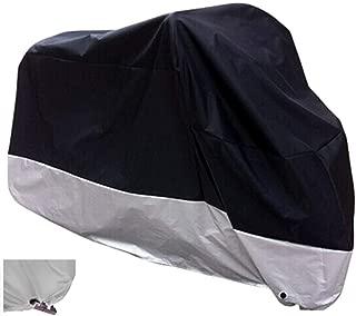 XYZCTEM XXXL large All Season Black Waterproof Outdoor Sun Motorcycle cover,116