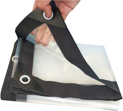 SXY888 Prougeection Contre Le Froid imperméable à l'eau de Pluie Transparente Membrane Chaude de Serre Chaude Tissu en Plastique, Plusieurs Tailles