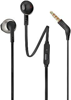 JBL T205 - Fone de ouvido in-ear, preto