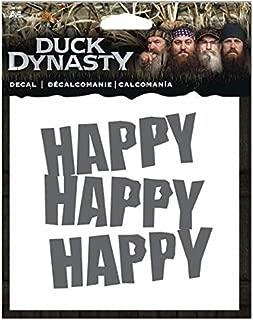 Duck Dynasty 4 x 4 Decal- Happy Happy Happy