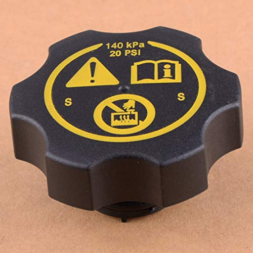 SHANYD Expansión del radiador Tapa del Tanque de Agua 13502353 / For Opel Astra Vauxhall Corsa Insignias Zafira