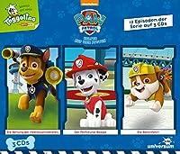 PAW Patrol Hoerspielbox 1: 12 Episoden auf drei CDs