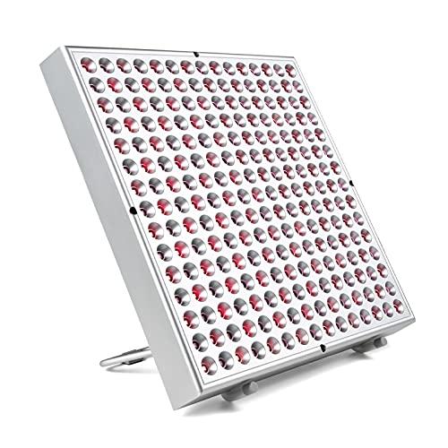 Cushion Dispositivo De Tratamiento De Luz Roja, Panel De Fototerapia con LED Rojo De 45 W, Tablero De Fototerapia con LED De Color Rojo Oscuro De 660 NM Y Infrarrojo Cercano De 850 NM
