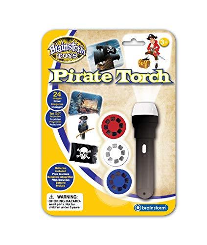 Brainstorm Toys E2058 - Linterna y proyector Pirata
