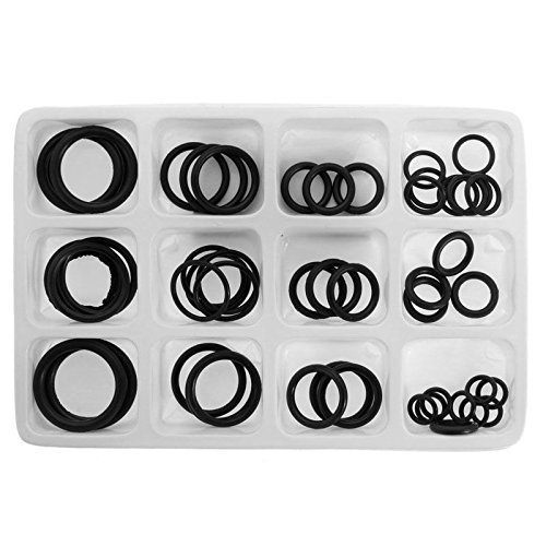 PAZIKO 50x Rubber O-Ring Gaskets Assorted Sizes Set Kit For Plumbing Tap Seal Sink Thread New -Y103