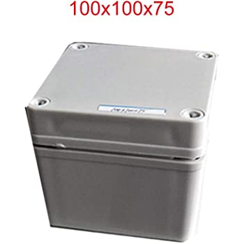 Bo/îte de d/érivation SenRise /étanche IP65 ABS Bo/îtier de projet /électrique Taille 27 blanc