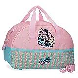 Disney Minnie Mermaid Bolsa de Viaje Rosa 40x25x18 cms Poliéster 17.28L