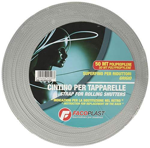 Fa.Co.Plast 0412050GTE Cintino per Tapparelle, Grigio