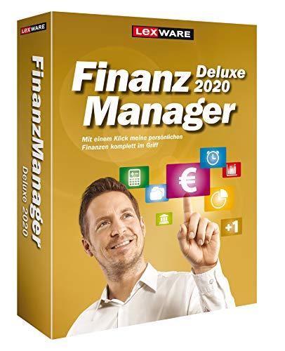 Lexware FinanzManager Deluxe 2020|Minibox|Einfache Buchhaltungs-Software für private Finanzen und Wertpapier-Handel