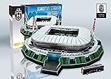 KARACTERMANIA Nanostad, Puzzle 3D Estadio Stadium Original de Juventus (39001), Multicolor