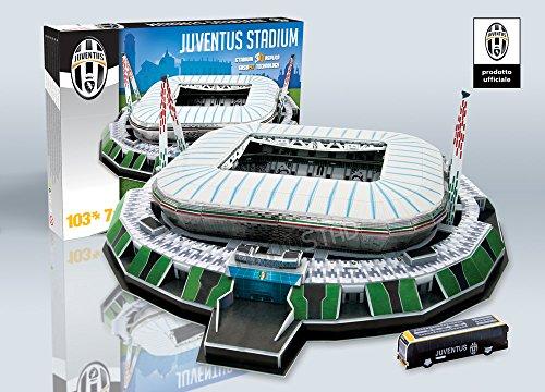 Nanostad Stadio Juventus Puzzle 3D, Età +7 anni, 67 pezzi