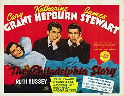 The Philadelphia Story Poster Movie (22 x 28 Inches - 56cm x 72cm) (1940) (Half Sheet Style A)