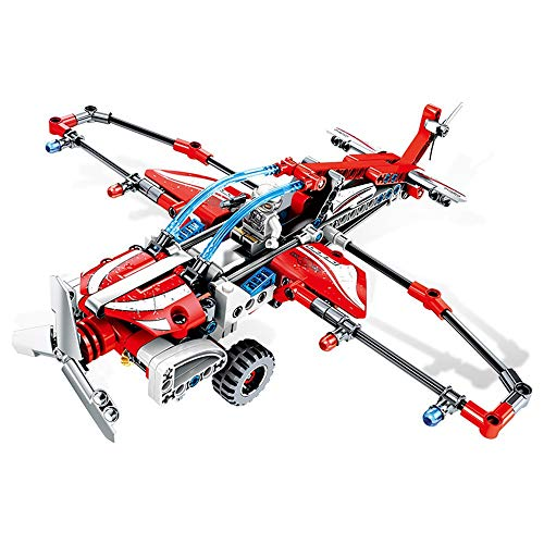 Best Buy! JIANGXIUQIN Blocks Kids 3-12 Years Old Children's Building Blocks Propeller Glider Childre...