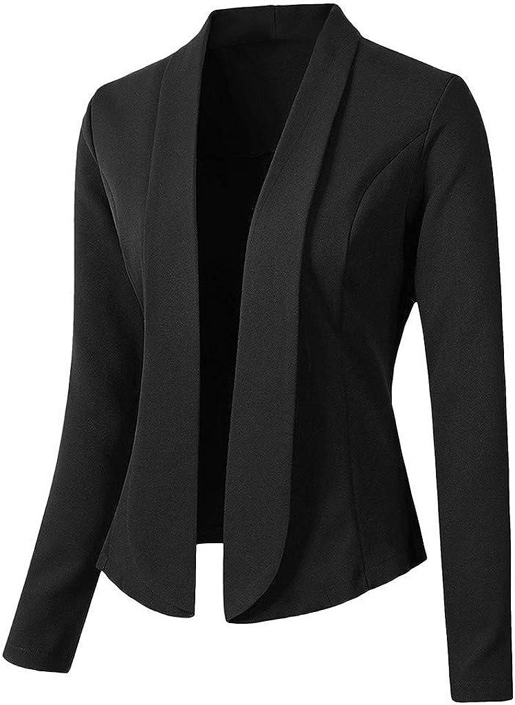 Keepmove Blazers for Max 52% OFF Women Tops Dedication Sleeve Ladies Jacket Long Office