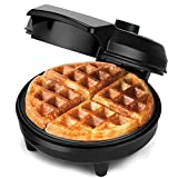 NETTA Waffle Maker Iron Machine - Non-Stick Coating | Deep Cooking Plates | Adjustable Temperature Control | Belgian American Sweet Savoury Waffle Makers - 700W