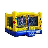 JumpOrange Residential Duralite Jr. Kiddo Balloon Party House Backyard Party Moonwalk Size 12'x12'