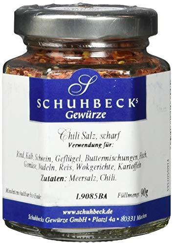 Schuhbecks Chili Salz scharf, 3er Pack (3 x 90 g)
