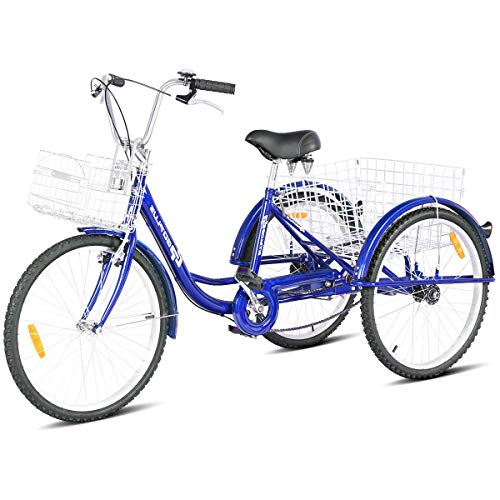 7 Best 3 Wheel Bikes For Seniors (Guide & Review) - Goplus Adult Tricycle Trike Cruise Bike
