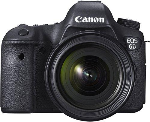 Canon EOS 6D + EF 24-70mm Juego de cámara SLR 20.2MP CMOS 5472 x 3648Pixeles Negro - Cámara Digital (20,2 MP, 5472 x 3648 Pixeles, CMOS, Full HD, 755 g, Negro)