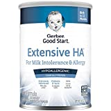 Gerber Extensive HA Hypoallergenic Powder Infant Formula with Iron for Cow's Milk Allergy, 14.1 Ounces