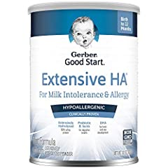 HYPOALLERGENIC NUTRITION: This hypoallergenic formula is designed for babies with cow's milk protein allergies (CMPA). If your baby is suspected to have or is diagnosed with CMPA, your baby's doctor might recommend changing from a routine formula to ...