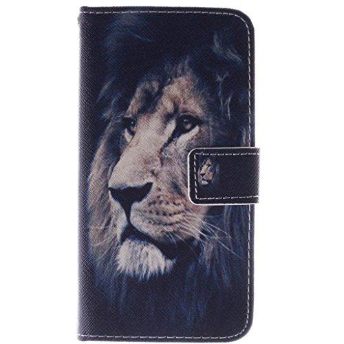 Samsung Galaxy A3 (2015) Hülle, SATURCASE PU Leder Flip Brieftasche Standfunktion Kartenschlitze Tasche Hülle Schutzhülle Handycover für Samsung Galaxy A3 (2015)