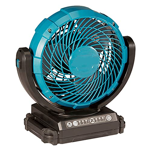 Wiederaufladbarer Lüfter, Leiser Desktop-Drehregler Mit Drei Geschwindigkeiten, Blauer Elektrischer Lüfter , Camping Im Freien, Stummgeschalteter Elektrischer Lüfter Mit Großem Wind,Rechargeable fan b