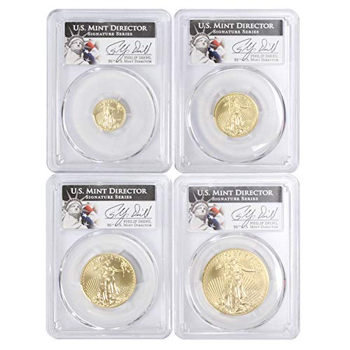 2013 American Gold Eagle 4-Coin Set MS70