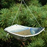 BestNest Anthony Stoneware Ceramic Bird Bath, Small, French Blue