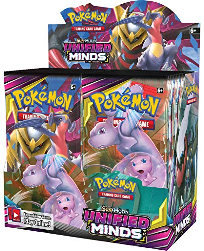 Pokémon POK81568 TCG: Sun & Moon 11 United Minds Booster Display
