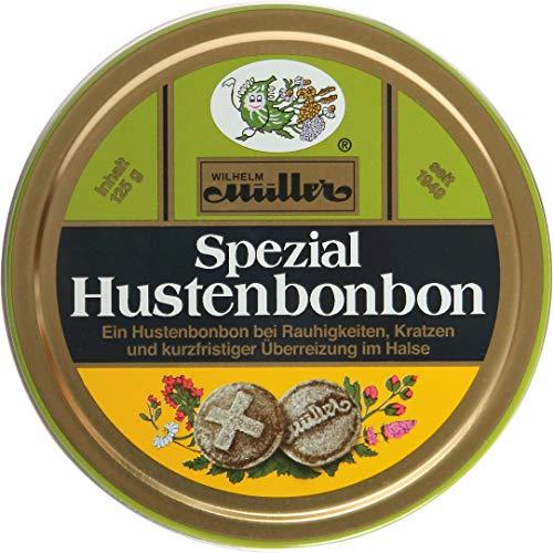 Hochwertiges Spezial Hustenbonbon bei Rauhigkeit im Halse (1 Dose)