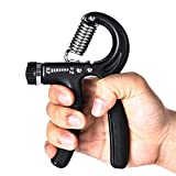HWeggo Handtrainer, Hand Trainingsgerät Widerstandsbereich 22 bis 110 Pfund (10-50 Kg) für...
