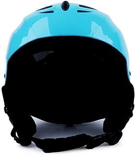 OLEEKA Ciclo de Casco de esquí, Hombres Mujeres monopatín Scooter de Nieve Casco, Deportes Juventud Casco Ligero y Ajustable