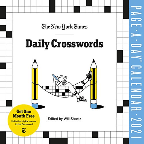 The New York Times Daily Crosswords Page-A-Day Calendar for 2021