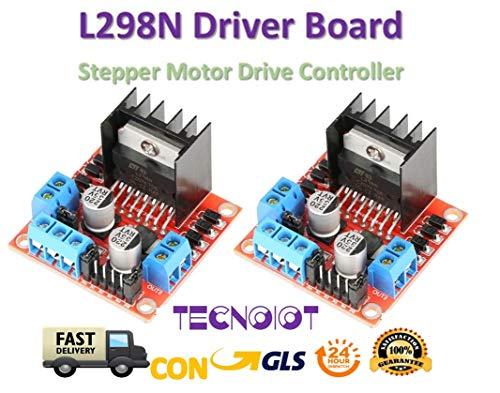 2pcs L298N Driver Board L298 Stepper Motor Drive Controller Module Dual H Bridge