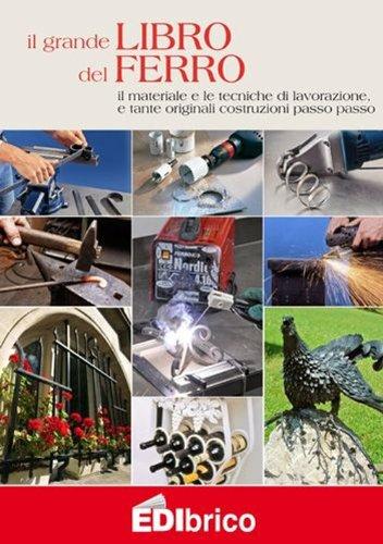 Il grande libro del ferro. Il materiale e le tecniche di lavorazione e tante originali costruzioni passo passo