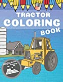 Tractor Coloring Book: High Quality Drawings For Kids