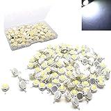 RUNCCI-YUN 110 Pz 1W Chip ad Alta Potenza LED, Super Bright Intensity SMD Emettitore di Lu...