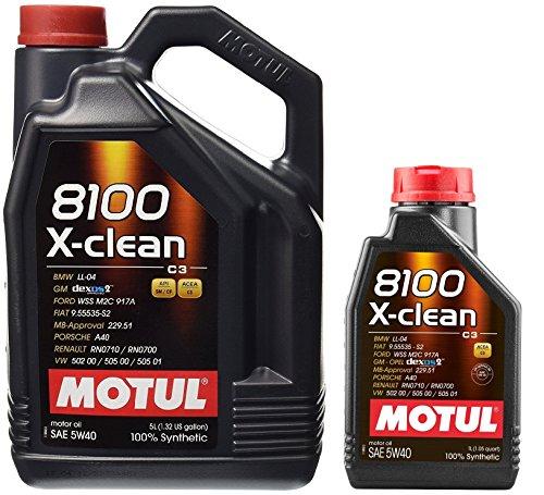 MOTUL 8100 X-Clean Acea C3 5W-40 Aceite de motor de coche...
